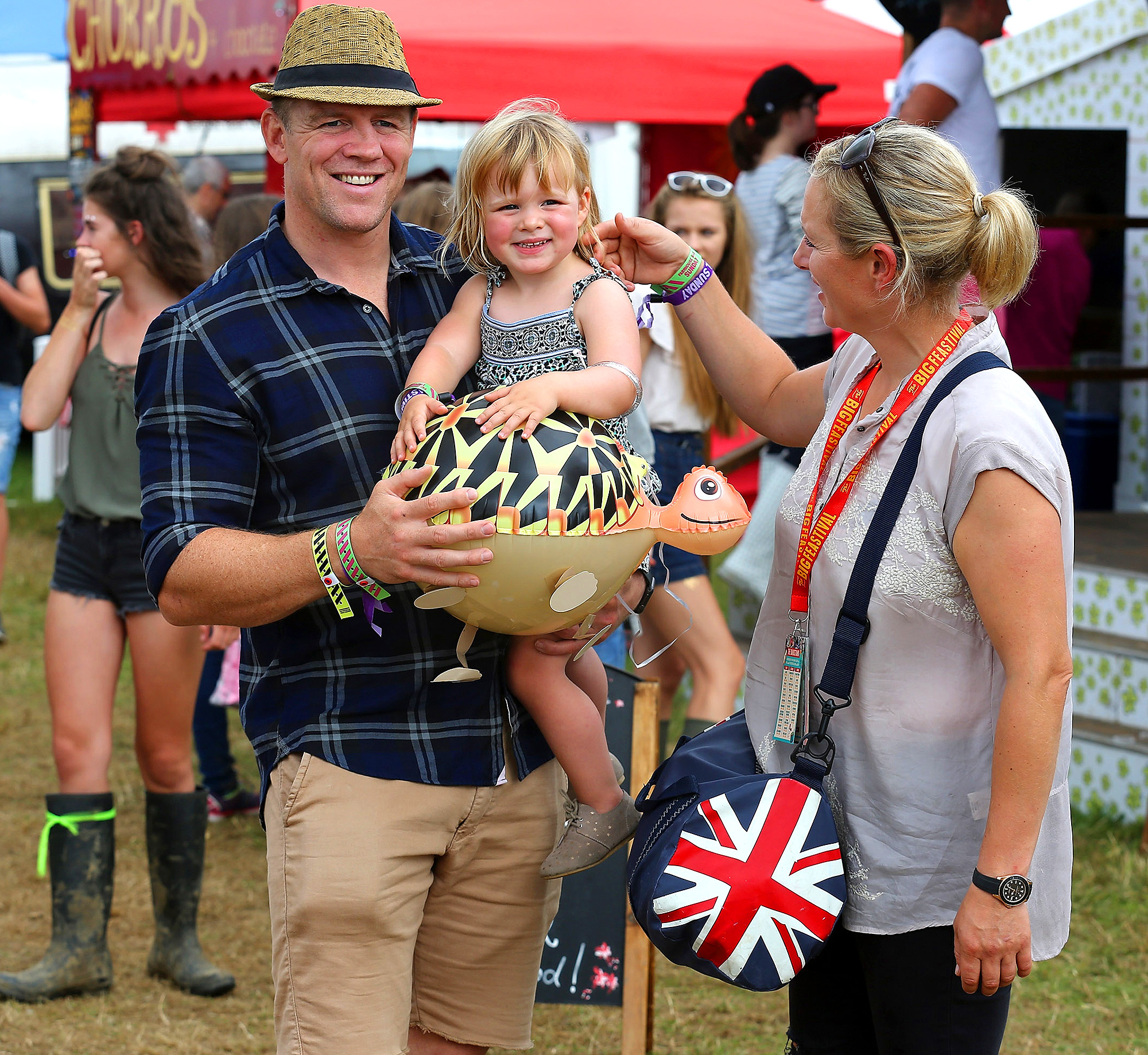 The Queen's Granddaughter Zara Tindall Just Announced a Very Special Name for Her New Daughter tindall-12
