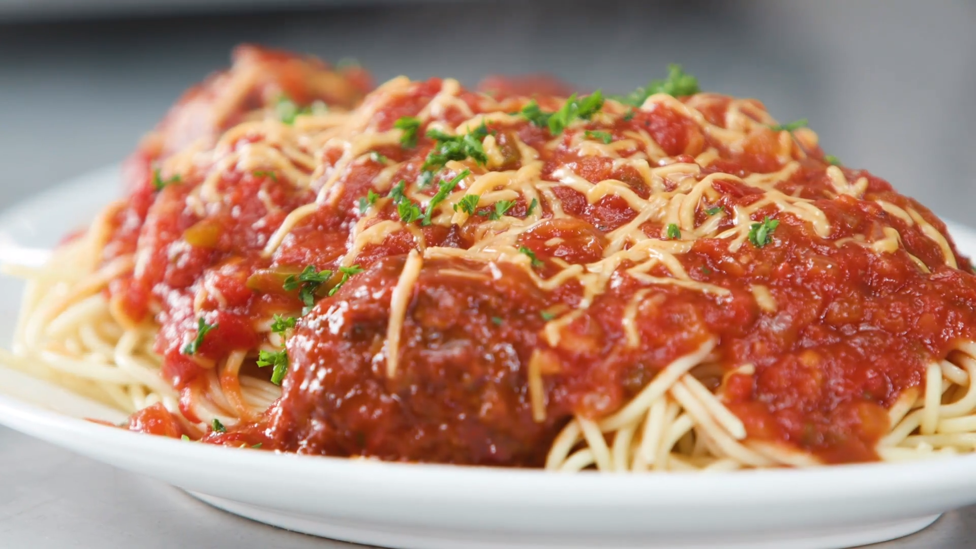 Barbecue Spaghetti & Meatballs Recipe
