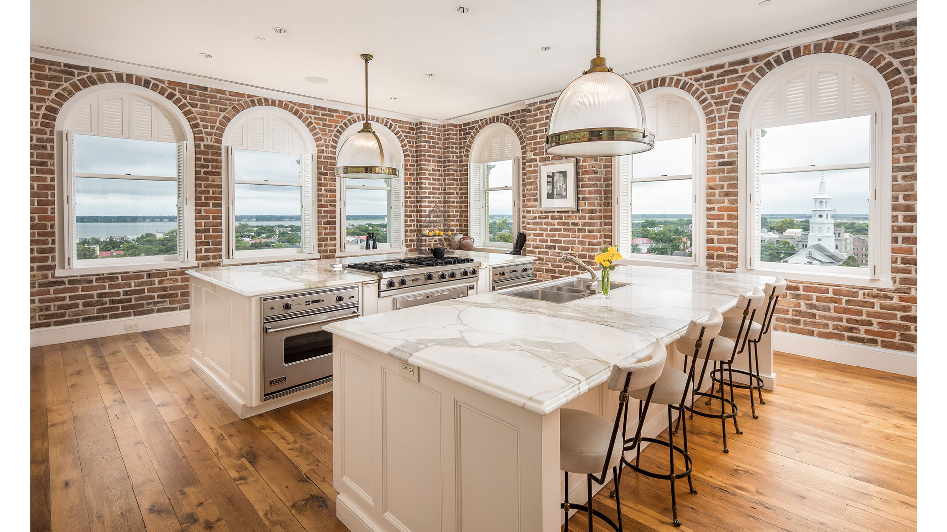 Charleston People's Building Penthouse Kitchen