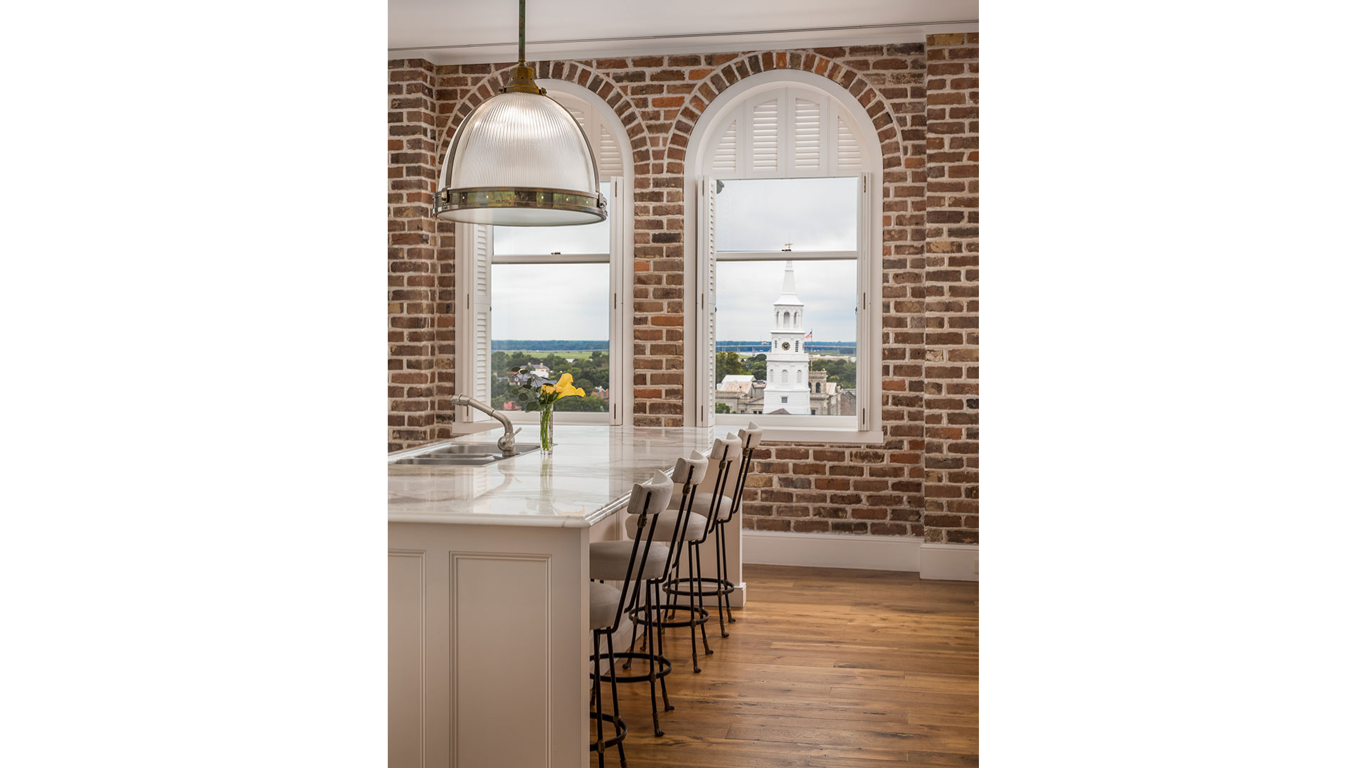 Charleston People's Building Penthouse Kitchen View