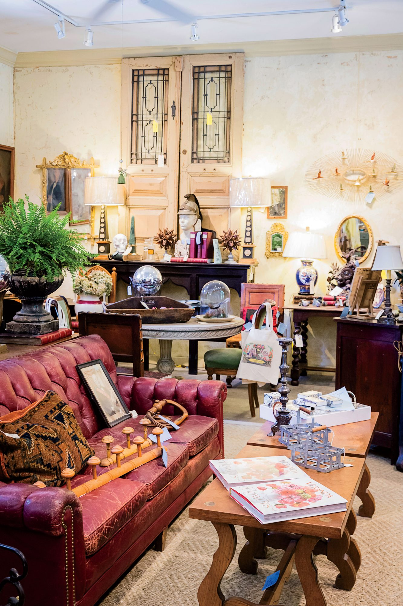 Dovetail Antiques in Cashiers, NC