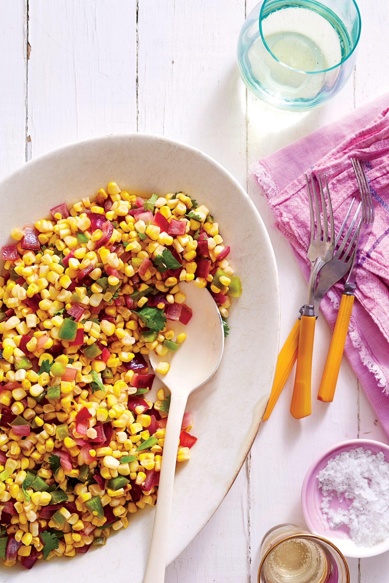 Spicy Grilled Corn Salad Recipe