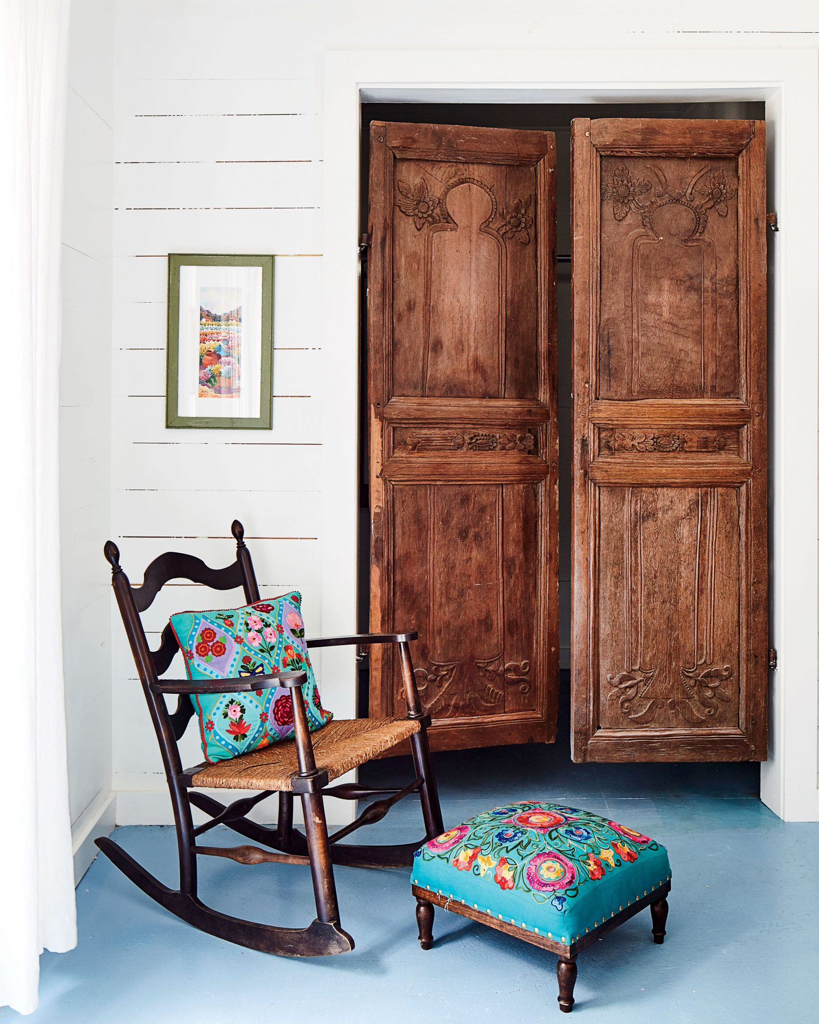 Ginny Stimpson Garage Guesthouse Makeover Closet