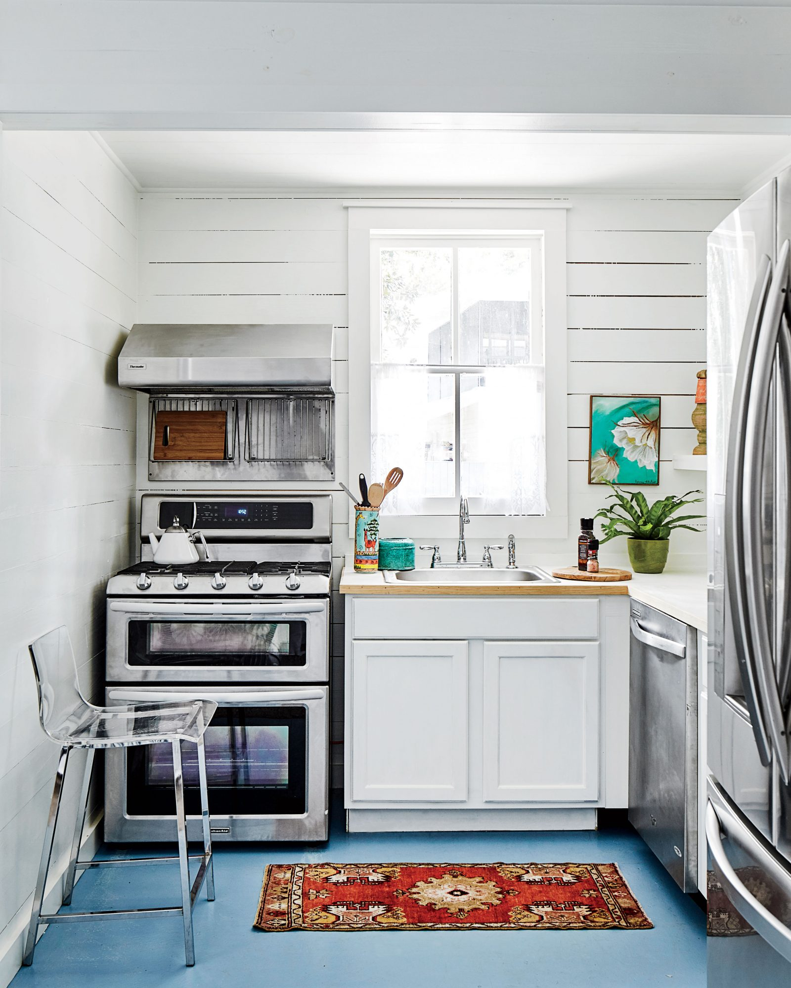Ginny Stimpson Fairhope, AL Garage Guesthouse Makeover Kitchen