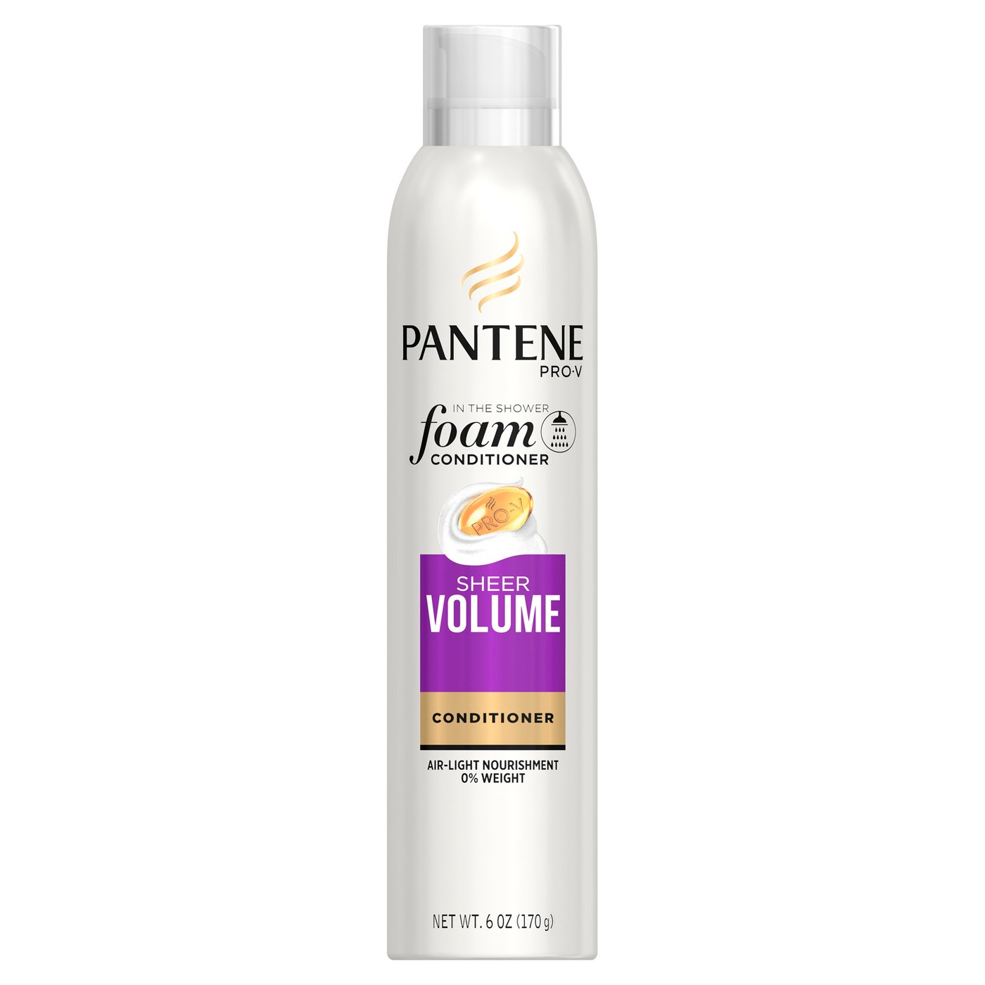 Pantene Sheer Volume Foam Conditioner