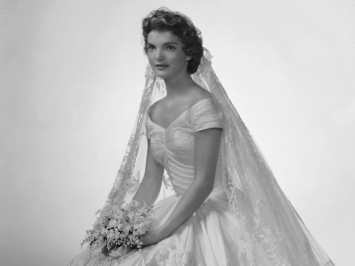 A Closer Look at Jackie Kennedy's Famous Ann Lowe Wedding Dress GettyImages-82273841