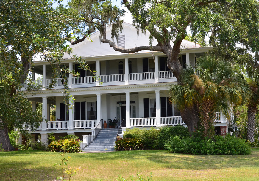 The Edgar Fripp house and Tidalholm Beaufort, SC