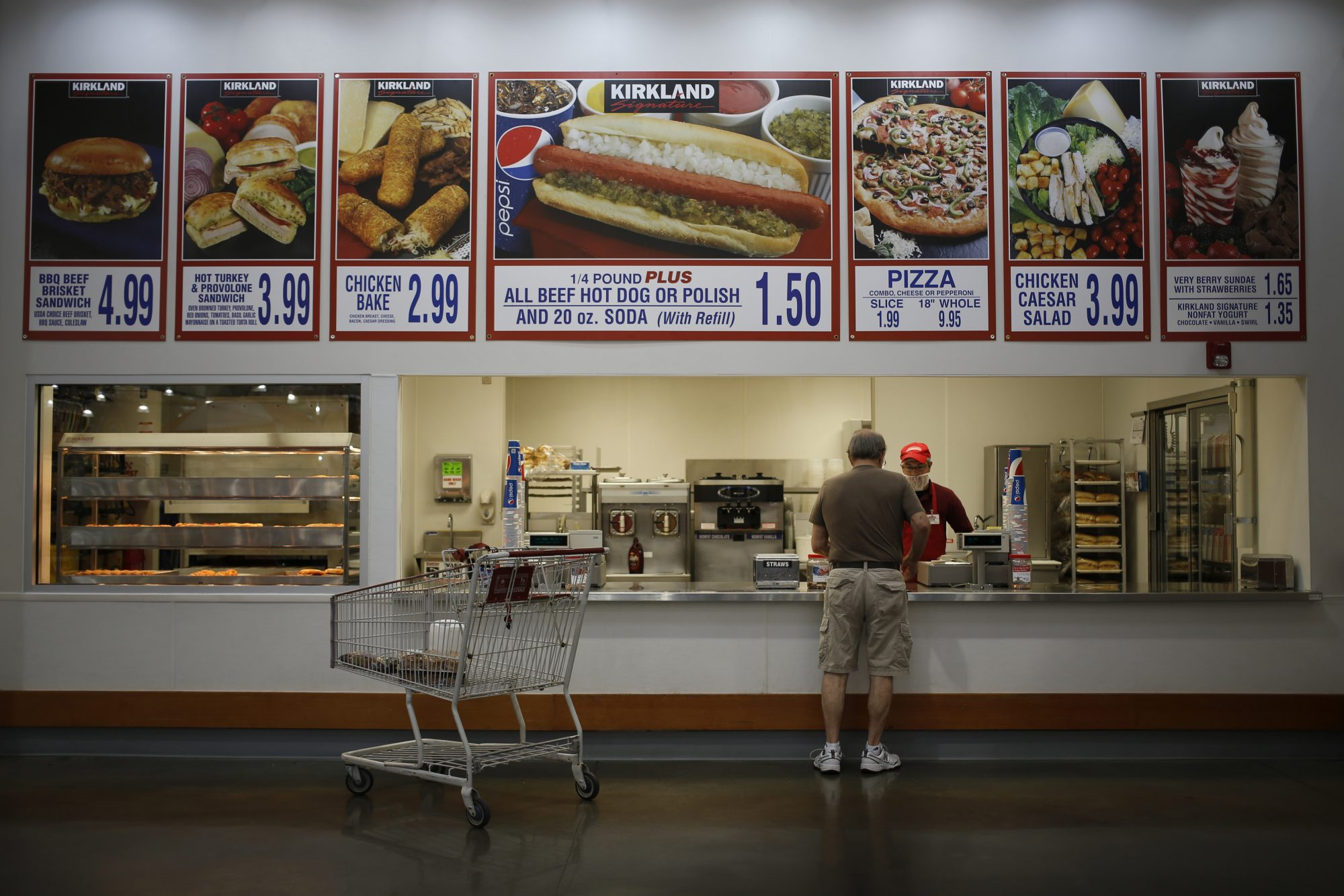 Southern Living Costco Food Court Hot Dog Combo