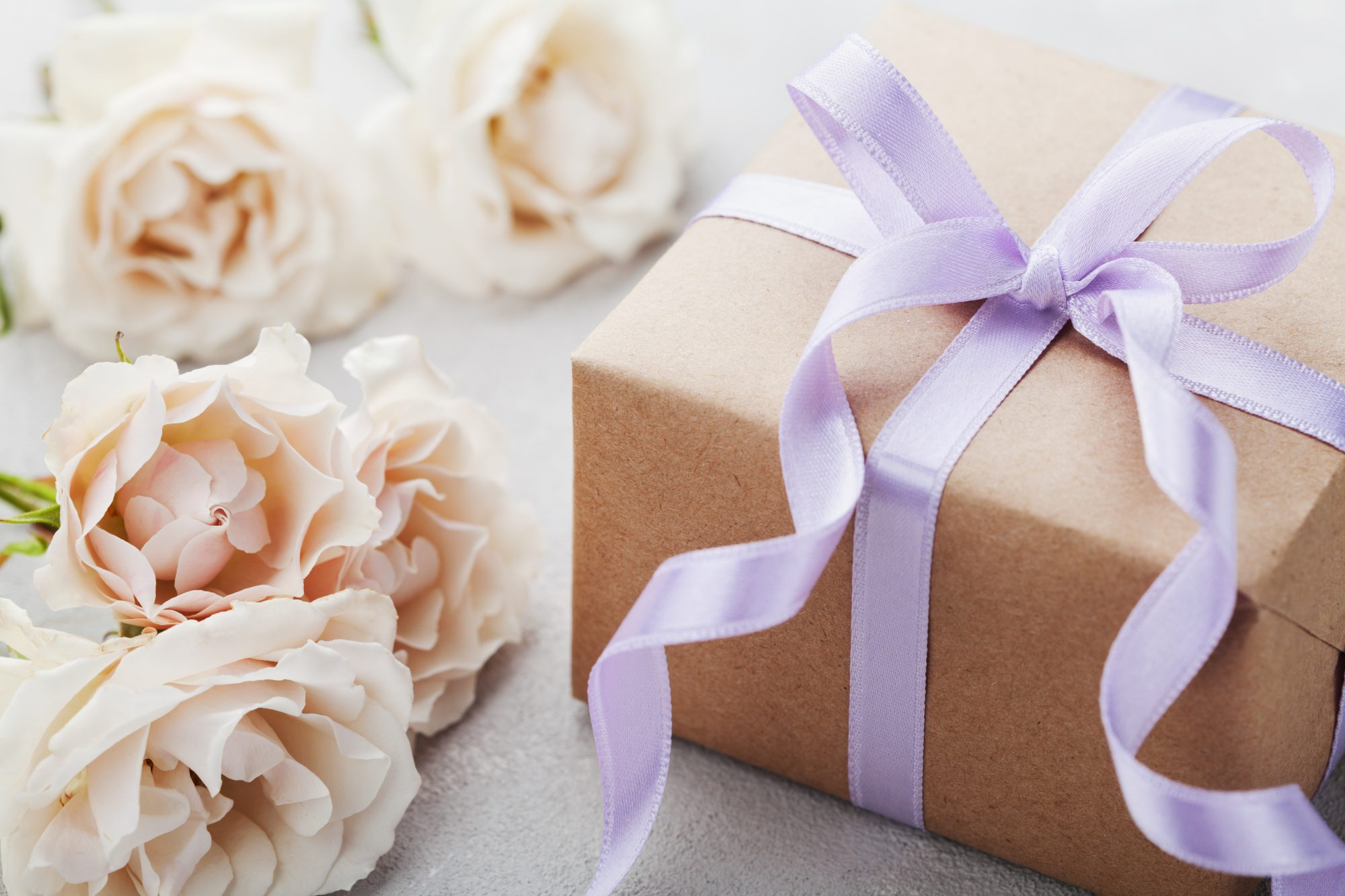 Wedding Gift with Flowers