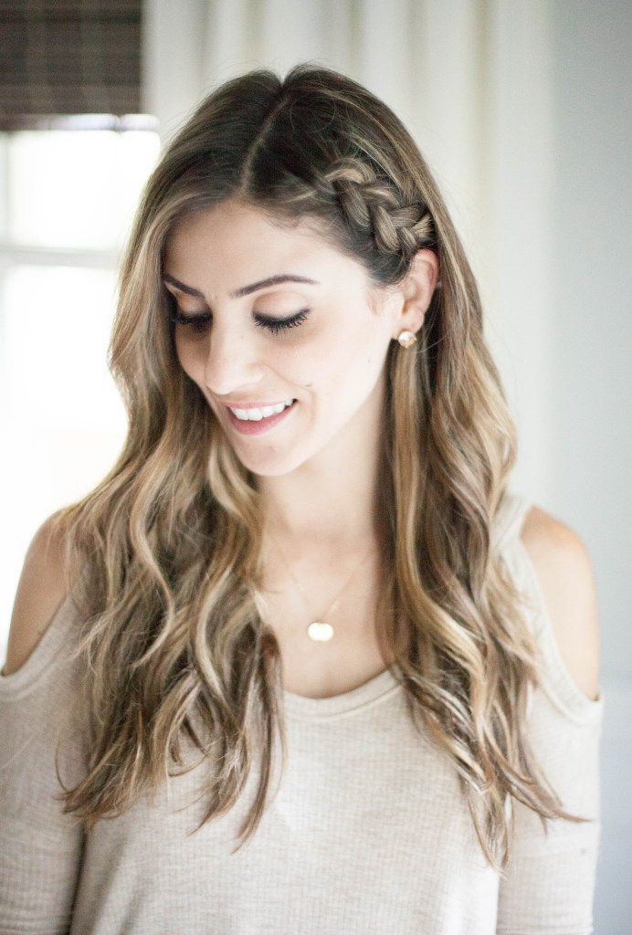 Half-Up Side Braid