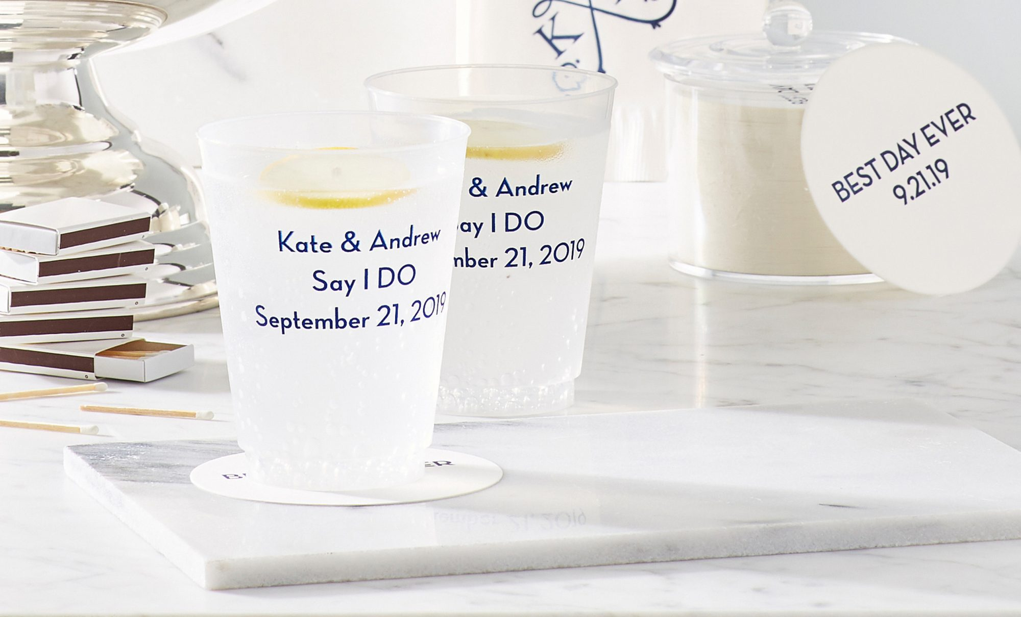 Plastic Wedding Party Cups