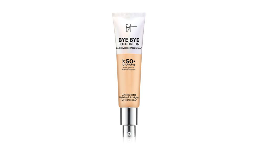 IT Cosmetics Bye Bye Foundation Full Coverage Moisturizer SPF 50