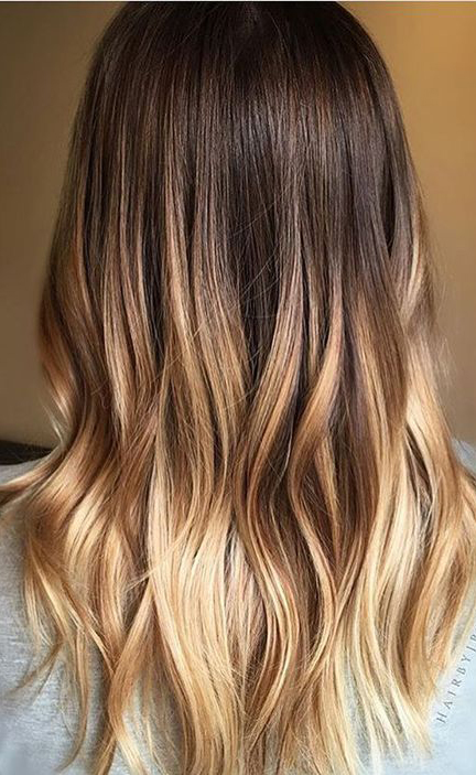 Melted Honey Ombré