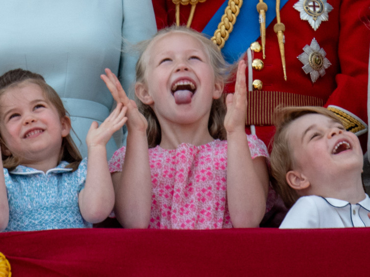 Prince George's Not-So-Shy Birthday Photo Is Here — See How It Compares to His 4 Past Portraits! royal-kids-2-2000