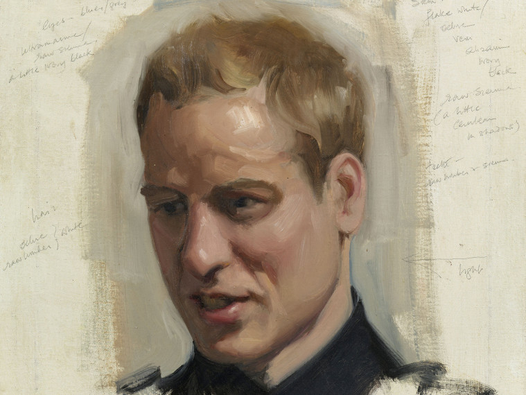 Prince Charles Shares Never-Before-Seen Portraits of William and Harry That Hang in His Own Home sketch-prince-william-1-2000