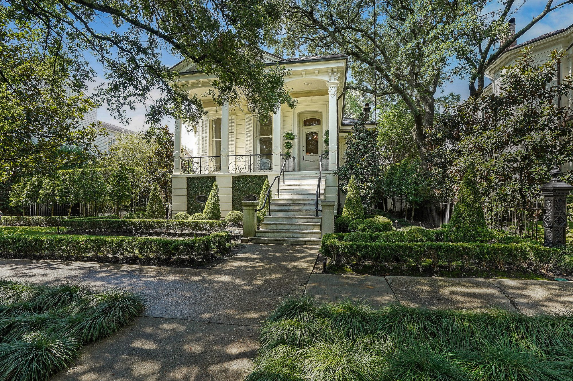New Orleans Side Hall Shotgun House for Sale