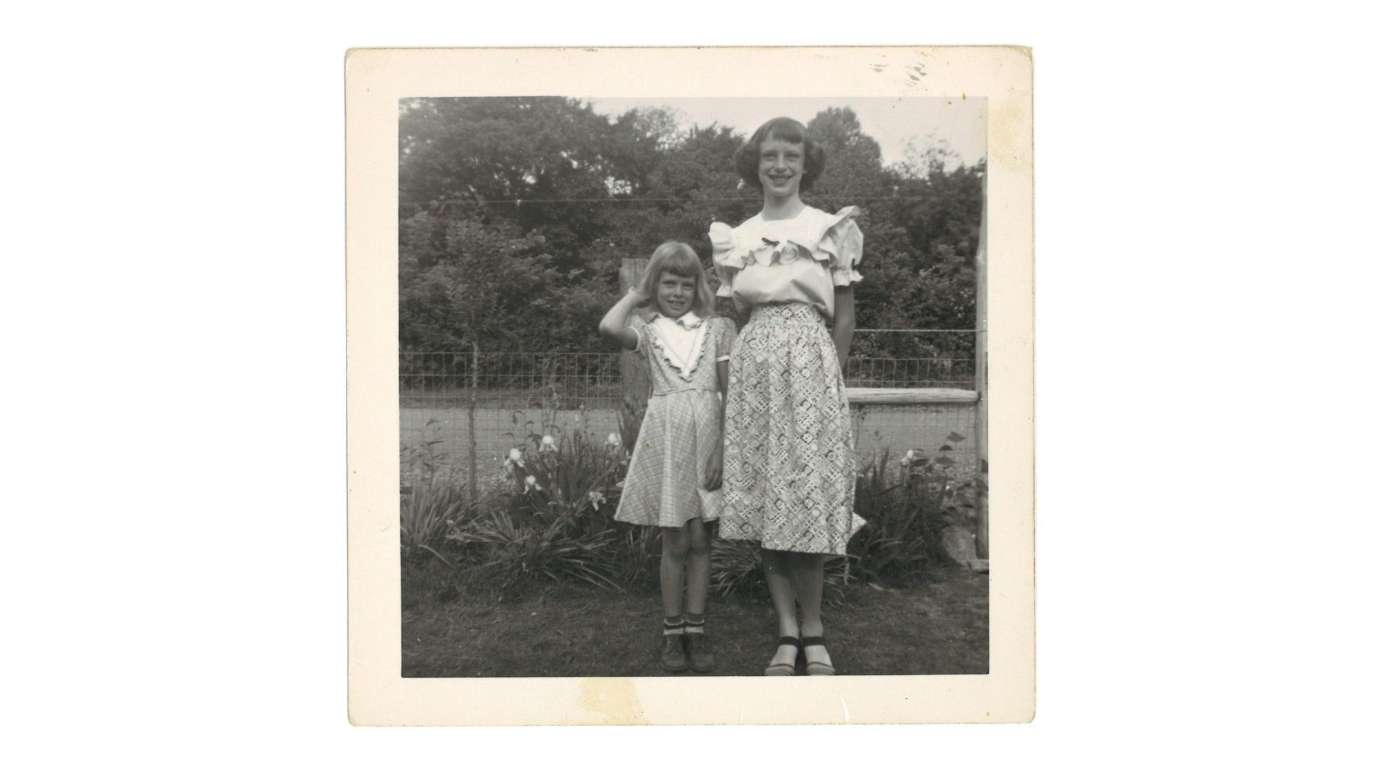 Pat English Garner and Sister Doris Ellen English Quasny