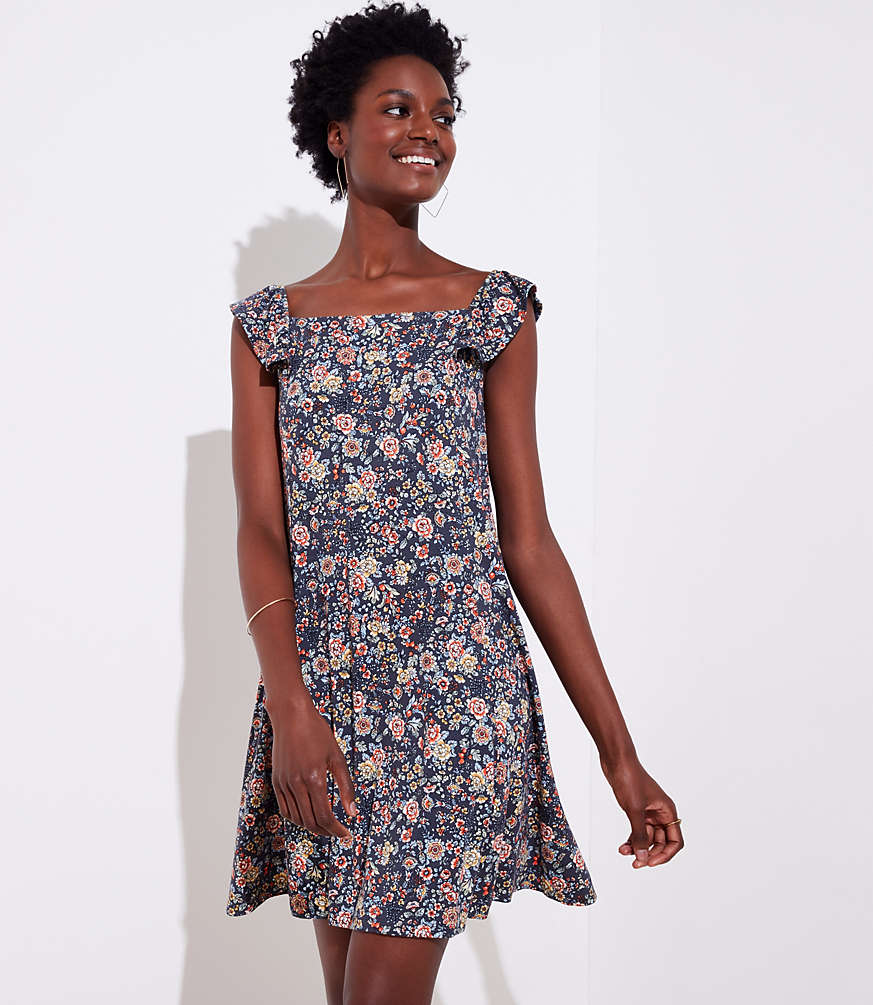 Rose Garden Flutter Swing Dress