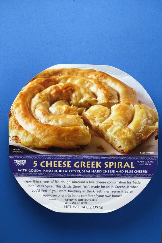 5 Cheese Greek Spiral