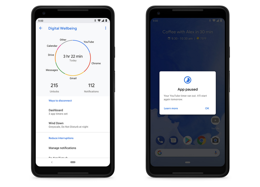 Google Digital Wellbeing