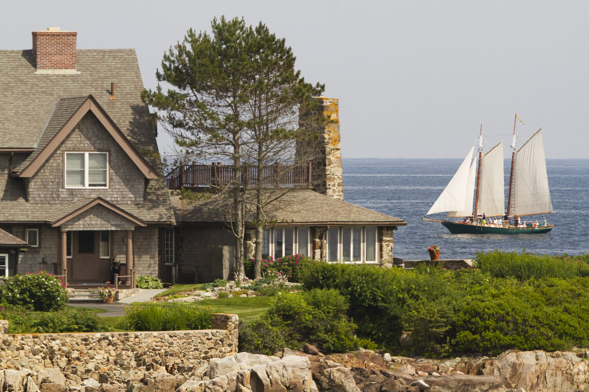 Bush Family House Kennebunkport Maine