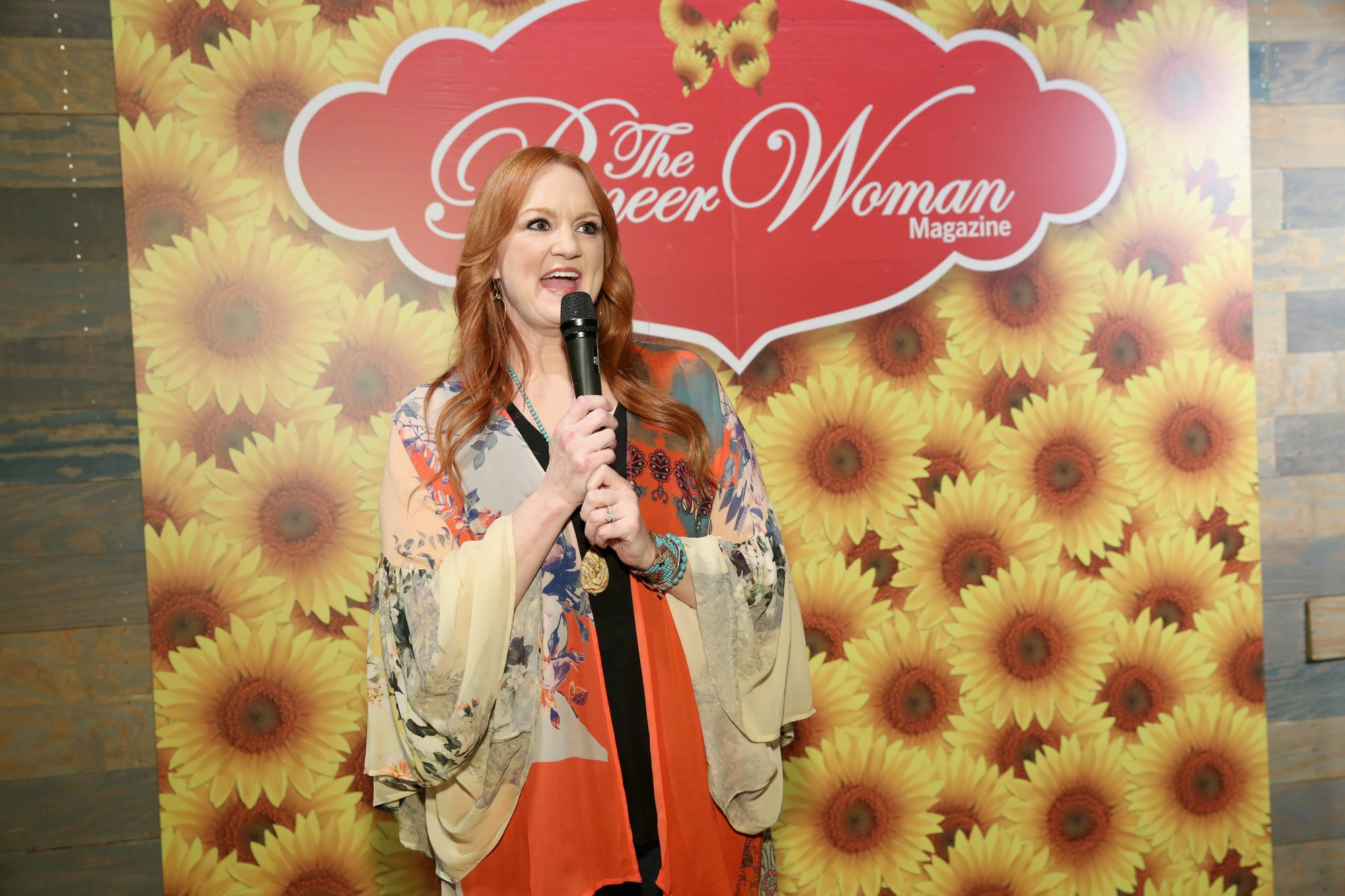 Ree Drummond with Mic