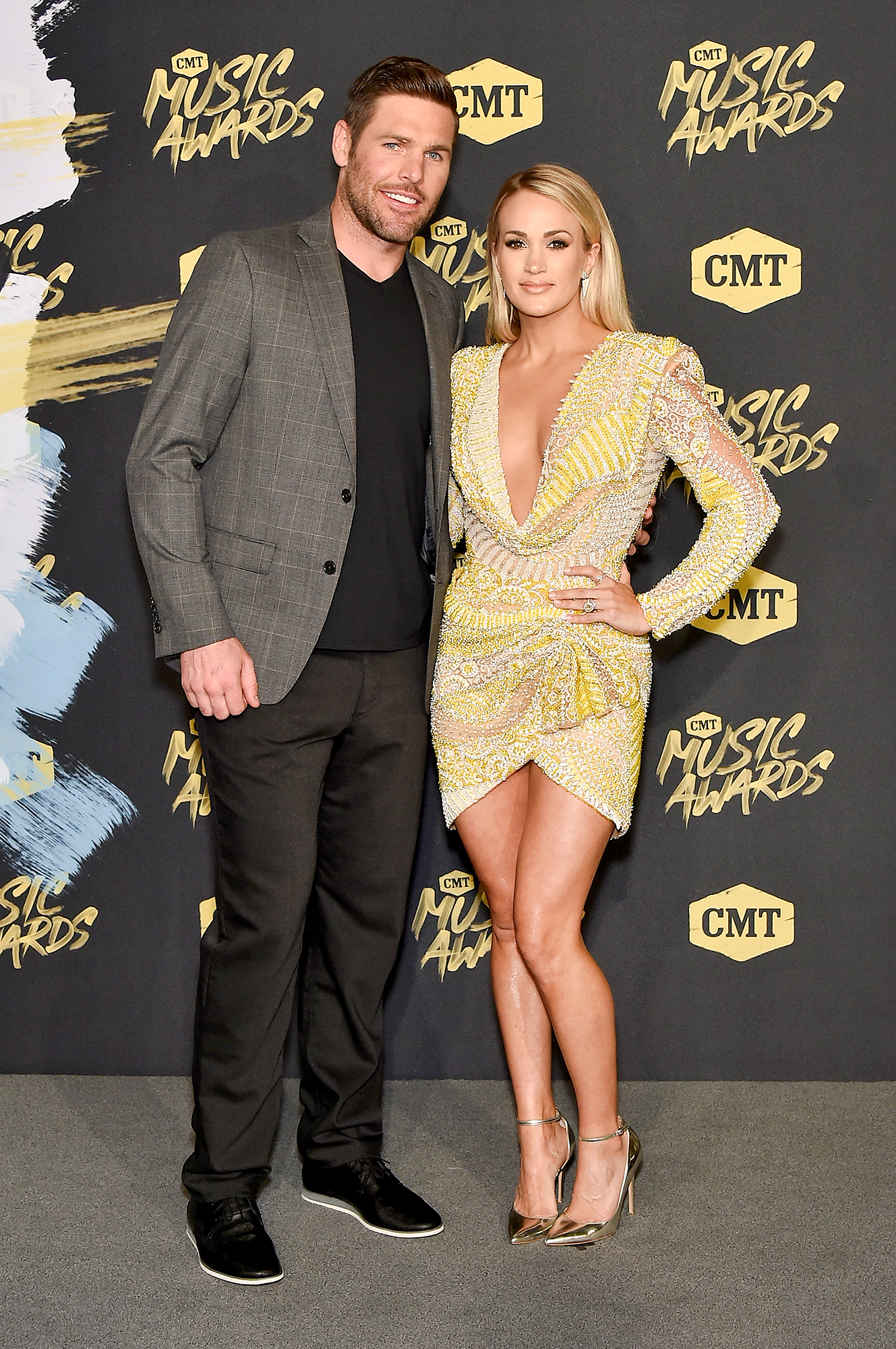 Carrie Underwood Imagines Her Life as a Mom of 2: 'It's Going to Be a Different Ball Game' carrie-mike