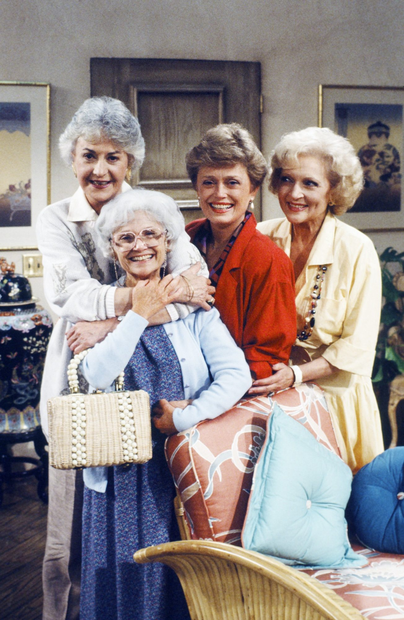 Golden Girls Embracing