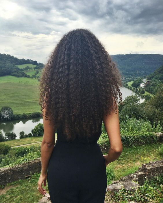 Long Natural Curls