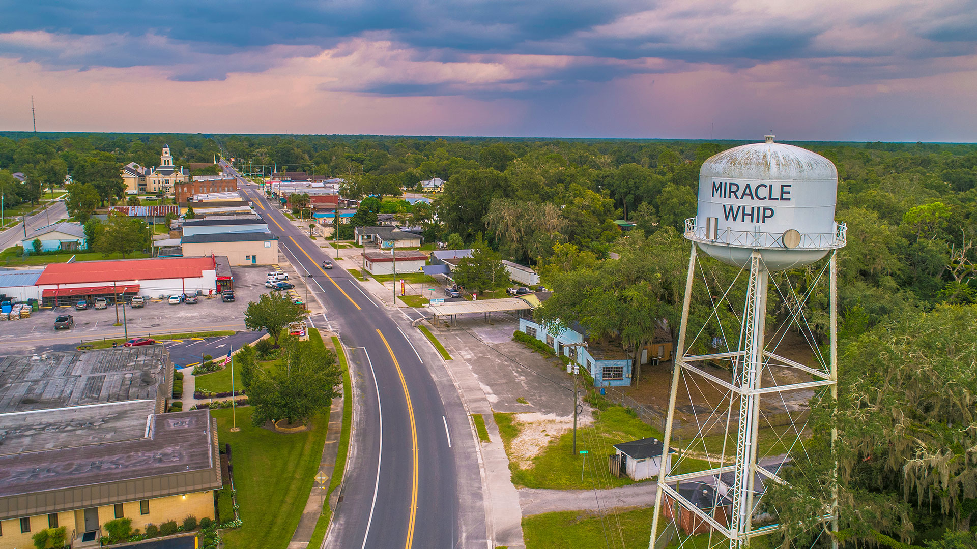 Mayo Florida Miracle Whip Water Tower