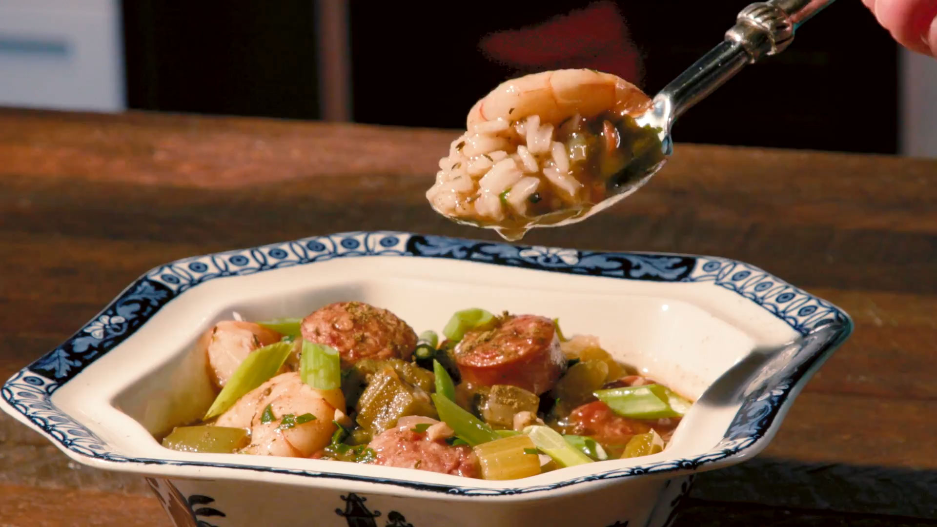 Shrimp and Sausage Gumbo