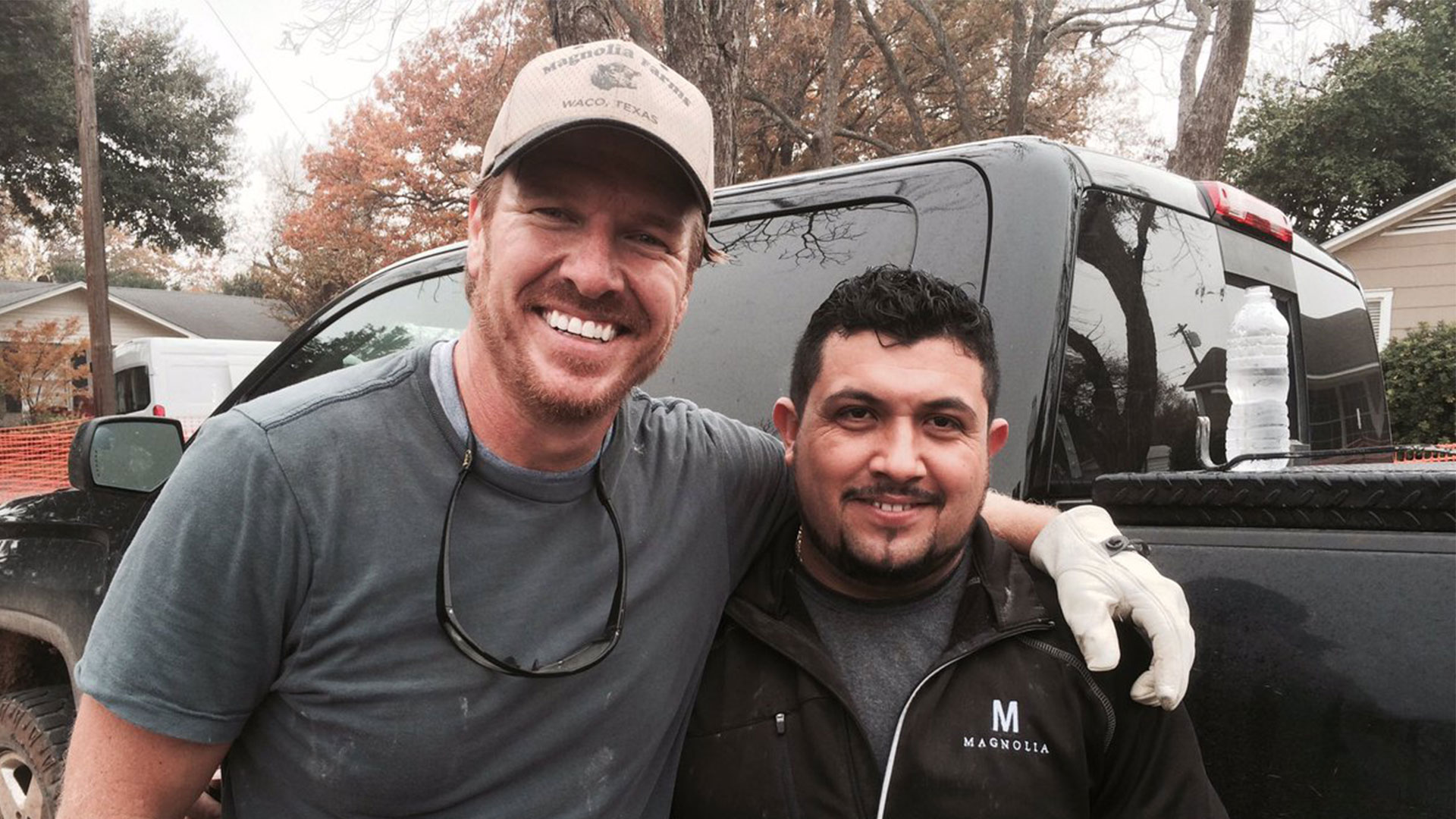 Chip Gaines and Shorty