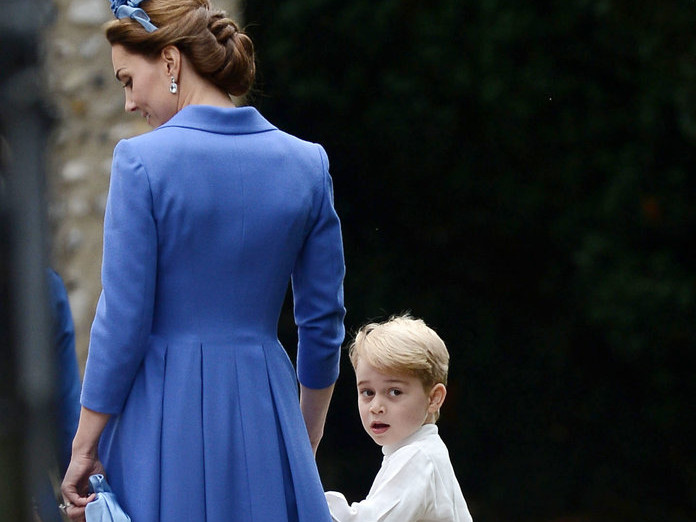 Princess Charlotte Was Caught Stealing, and It's a Prince Harry Situation All Over Again 092518-kate-middleton-bag-embed