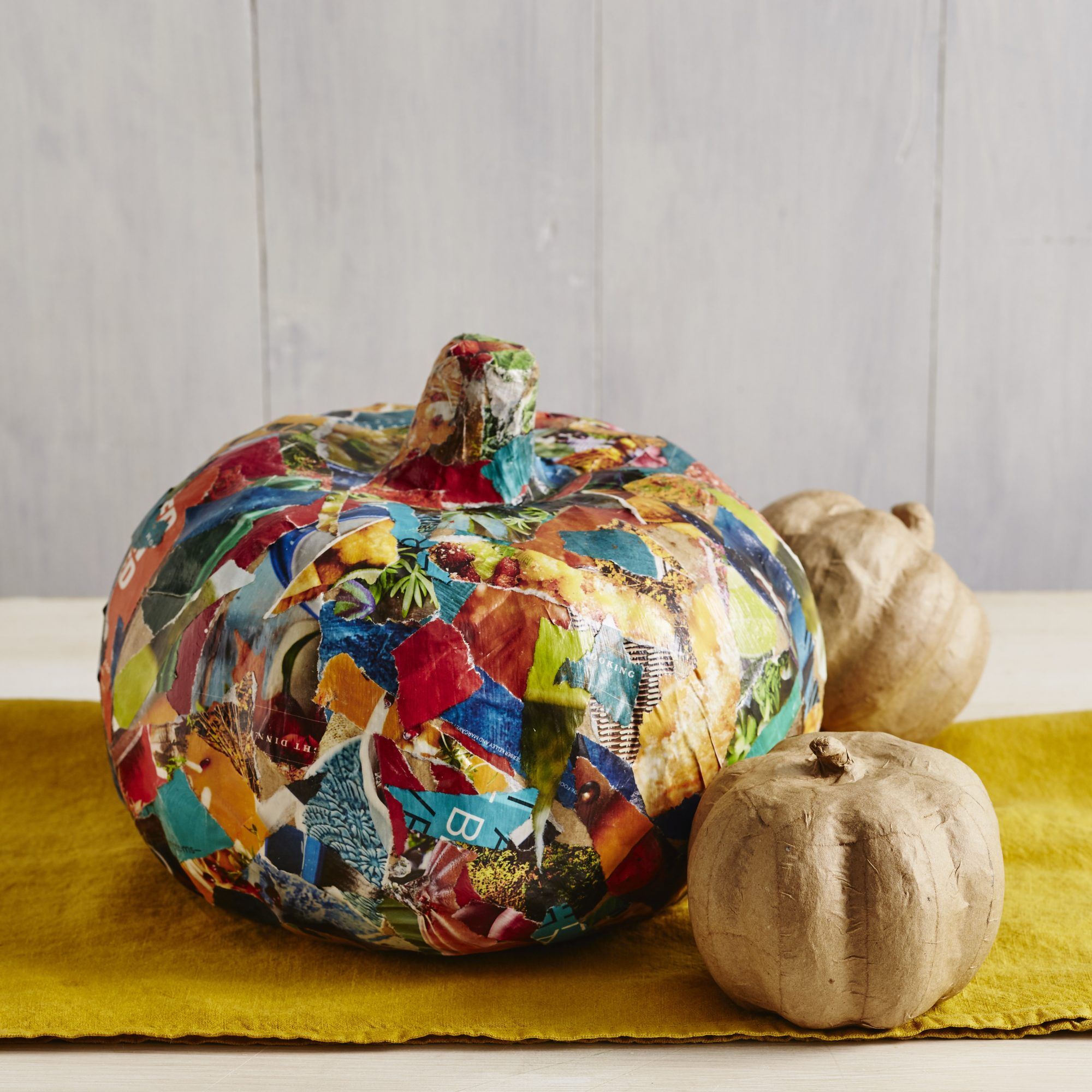Decoupage Pumpkins