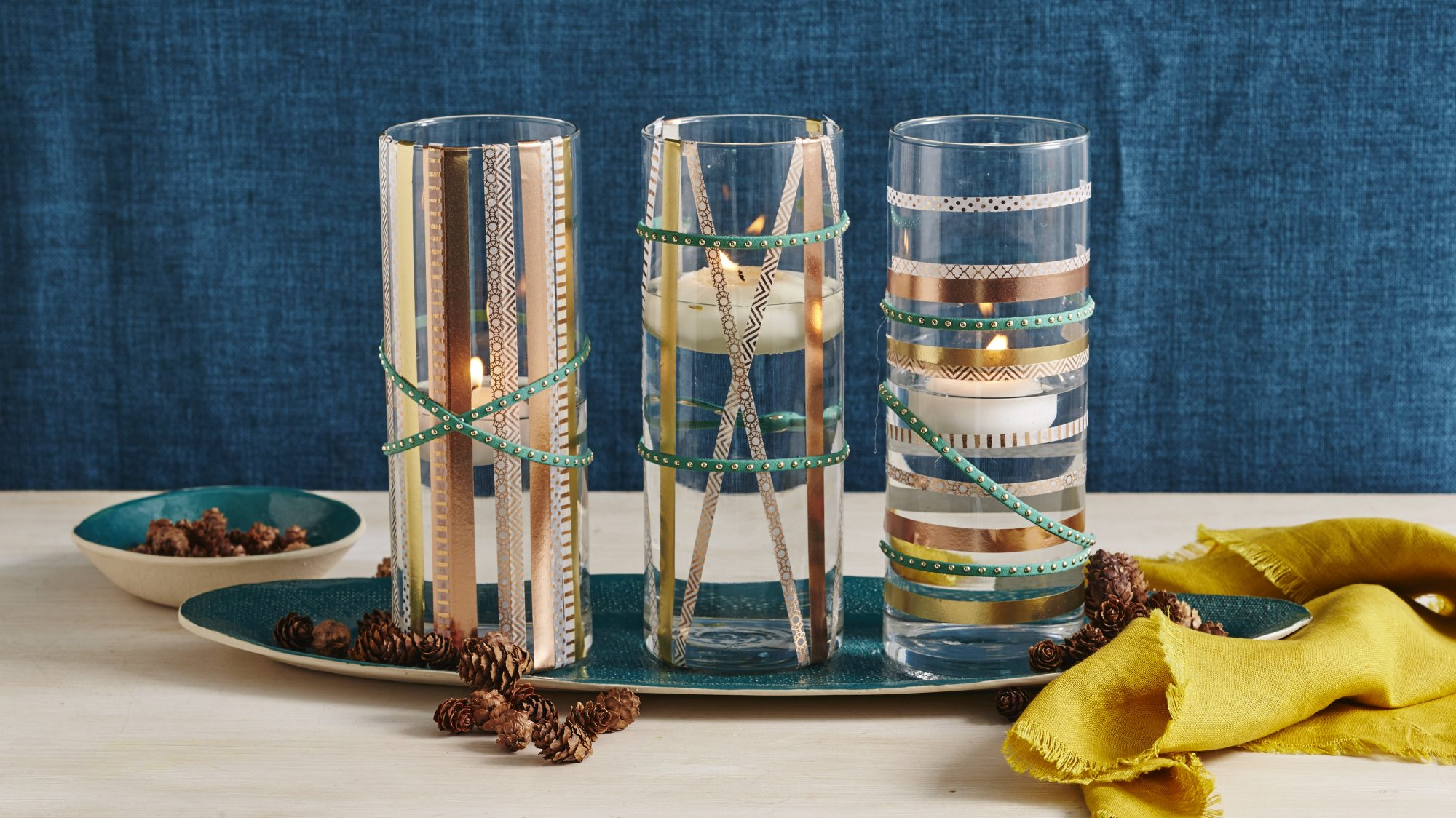 Foiled Floating Candleholders