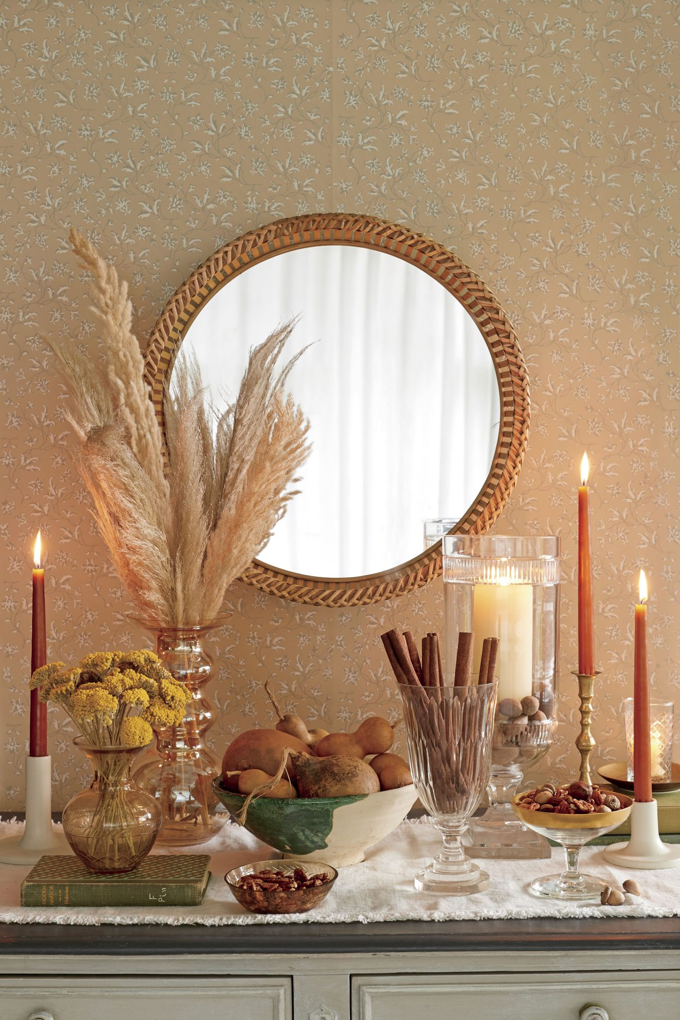 Grouped Items Fall decor