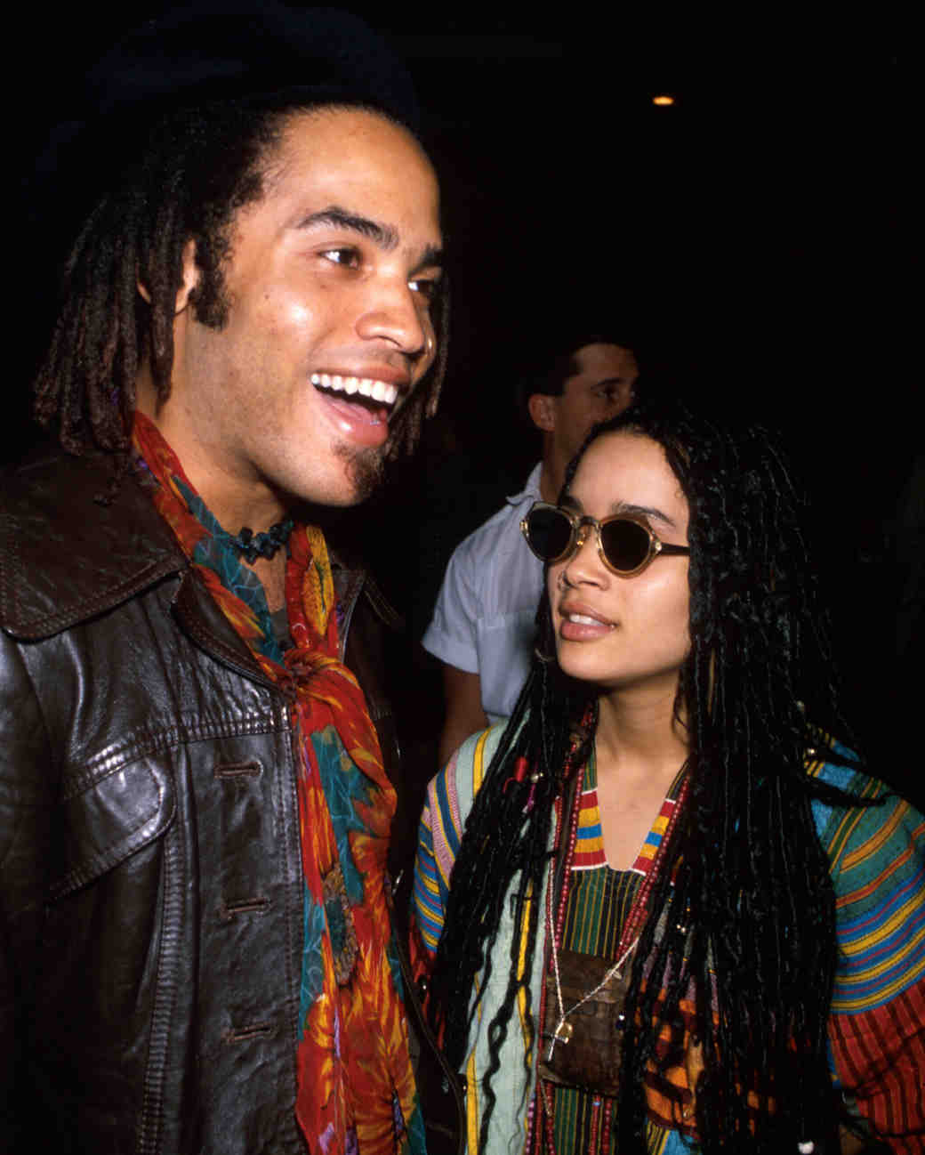 celebrity weddings year you were born lenny kravitz lisa bonet
