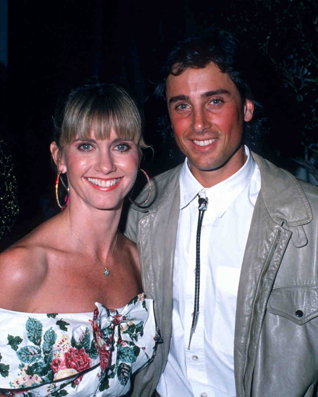 1984: Olivia Newton John and Matt Lattanzi