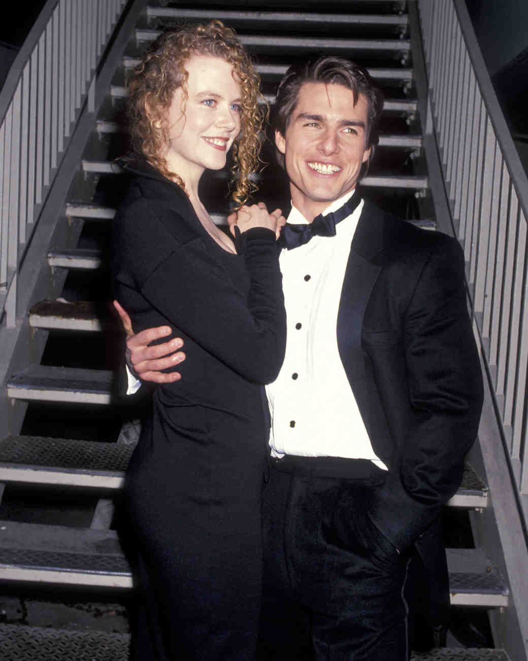 1990: Tom Cruise and Nicole Kidman