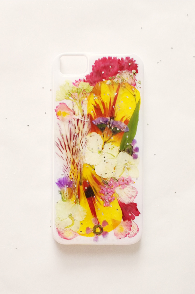 Colorful DIY iPhone Case