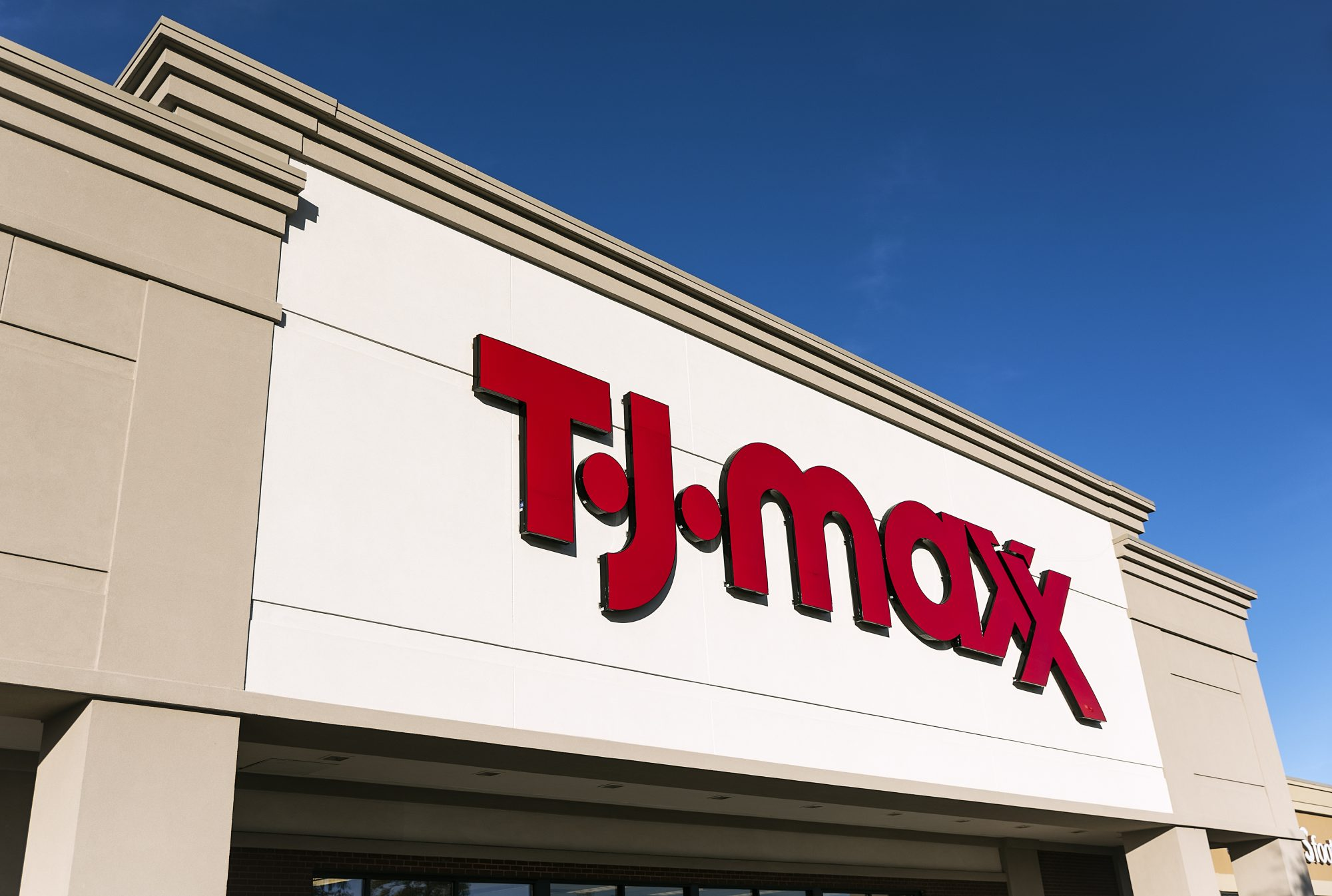 TJ Maxx Store Front