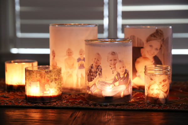 Family Photo Luminaries