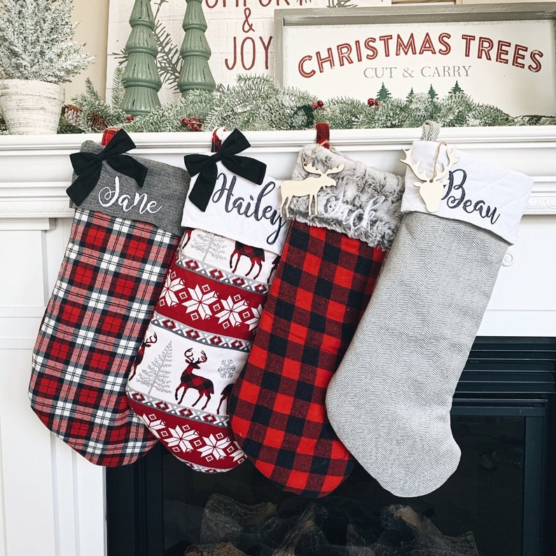 Farmhouse Christmas Stockings