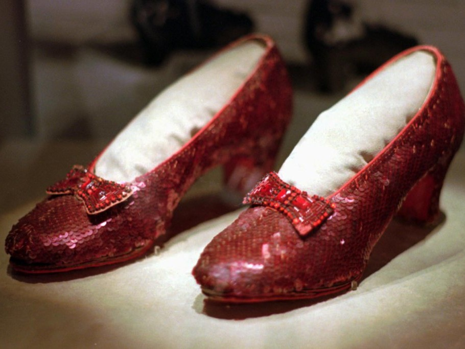 There's No Place Like Home! The Wizard of Oz's Ruby Slippers Reportedly Found 13 Years After Theft shutterstock_editorial_6511615a_huge