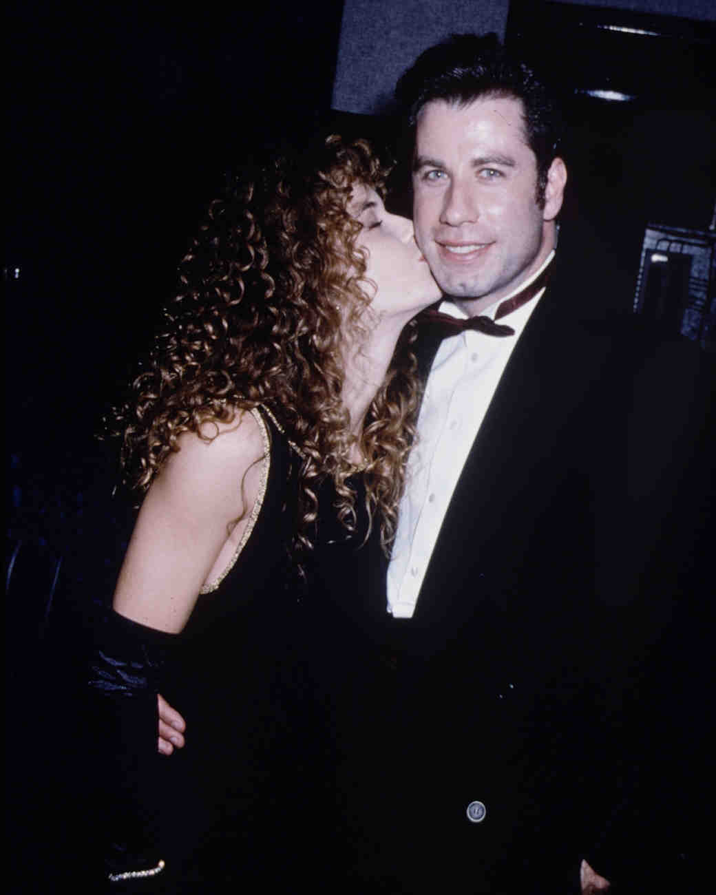 1991: John Travolta and Kelly Preston