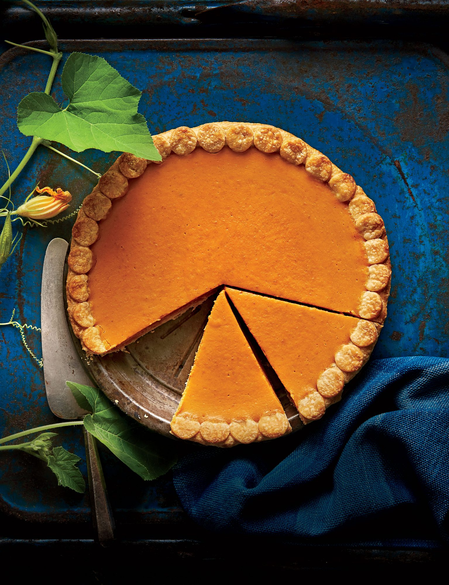 Our Easiest Pumpkin Pie Ever