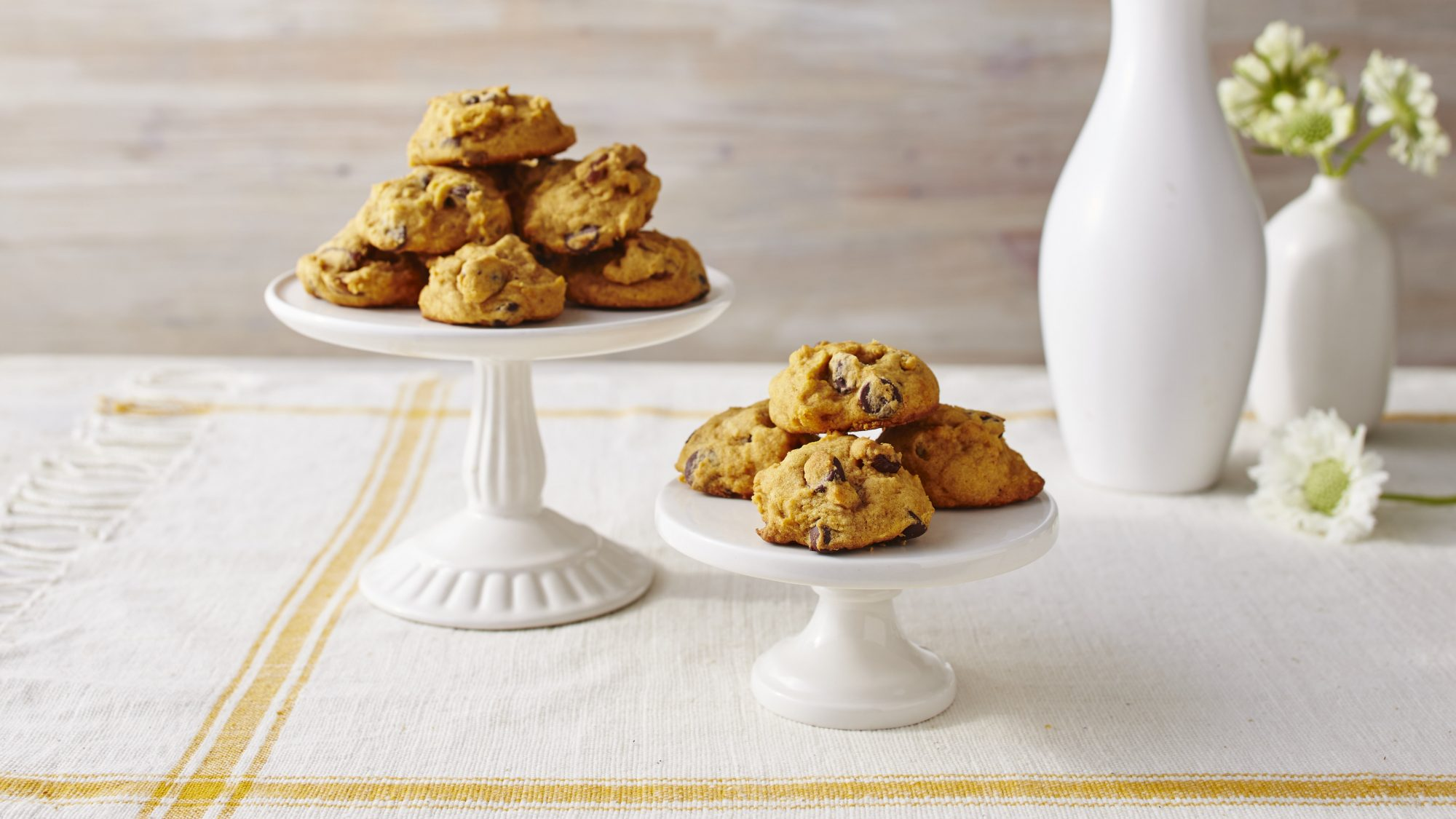 Pumpkin-Chocolate Chip Cookies Recipe