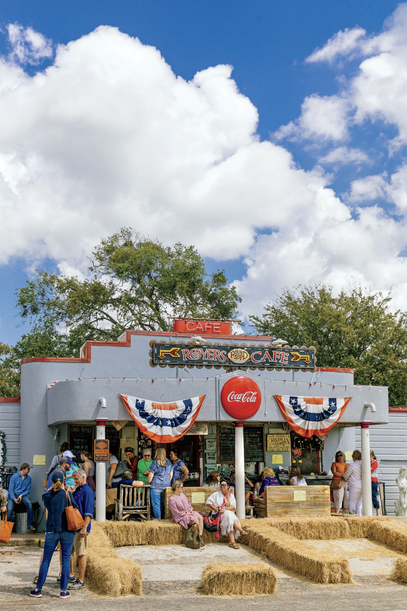 Royers Round Top Cafe in Texas