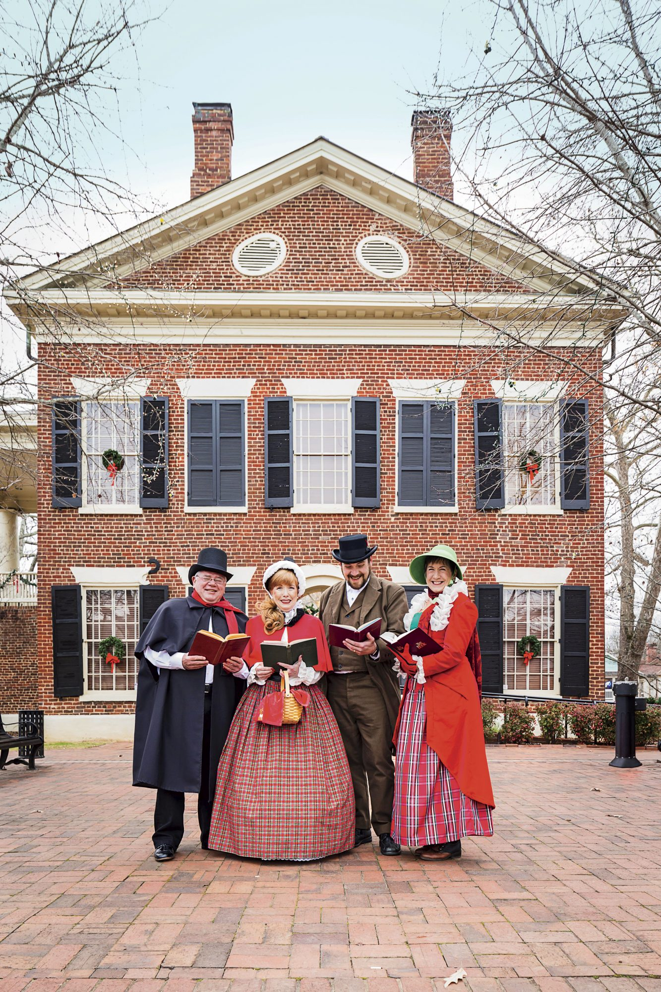 Carolers in Dahlonega, GA