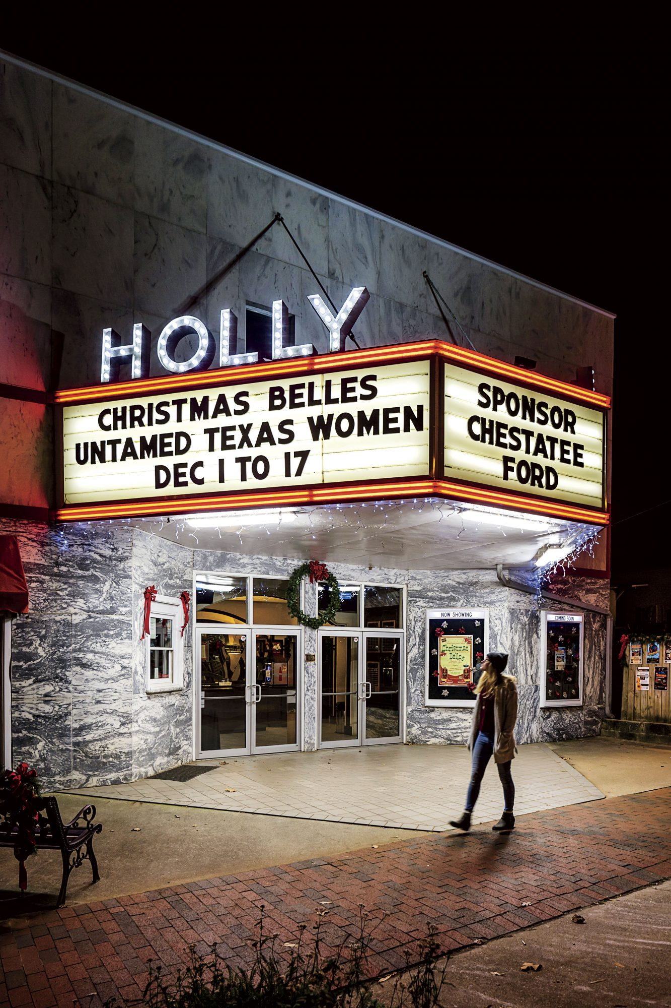 Holly Theatre in Dahlonega, GA